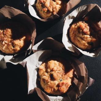 The Primal Gourmet: Lemon and Blueberry Muffins with Macadamia Nuts, LVBX Magazine
