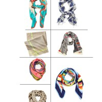 How to wear scarves in the summer