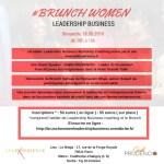 BRUNCH WOMEN LEADERSHIP BUSINESS – Dimanche 18.09.2016 de 10h à 16h à Paris