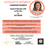 SAVE THE DATE – 3ème édition du BRUNCH WOMEN LEADERSHIP BUSINESS à Paris