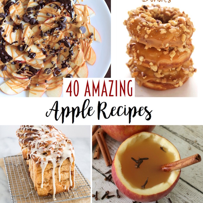 40 Apple Recipes to Make Use of All of Those Apples You Picked