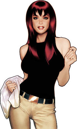 Mary Jane Watson original look in Spider-Man comic