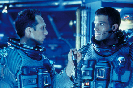 Armageddon William Fichtner and Ben Affleck
