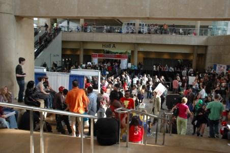 Baltimore Comic Con 2013 - crowd shot