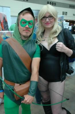 Baltimore Comic Con 2013 - GreenArrow and Black Canary