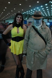 Baltimore Comic Con 2013 - Silk Sapphire and Rosarach