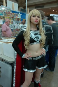Baltimore Comic Con 2013 - Taylor Swift as Supergirl