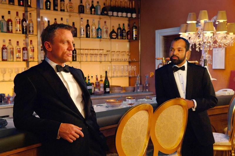 Casino Royale Daniel Craig and Jeffrey Wright