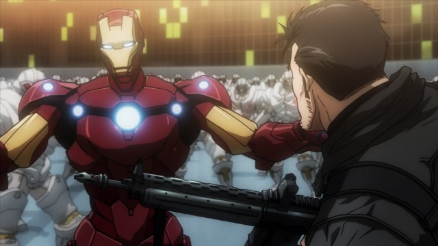 Avengers Confidential Black Widow and Punisher - Iron Man and Punisher