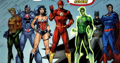 Which hero will complete the seven in Justice League film?
