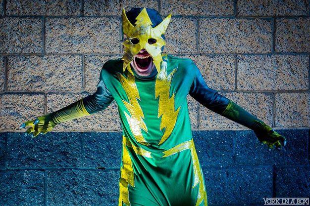 Spider-Matt as Electro