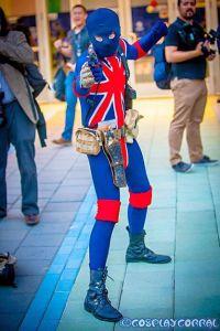 Spider-Matt as Union Jack
