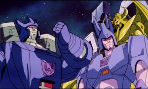 The Transformers The Movie - Galvatron and Cyclonus