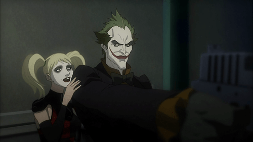 batman-assault-on-arkham-harley and joker