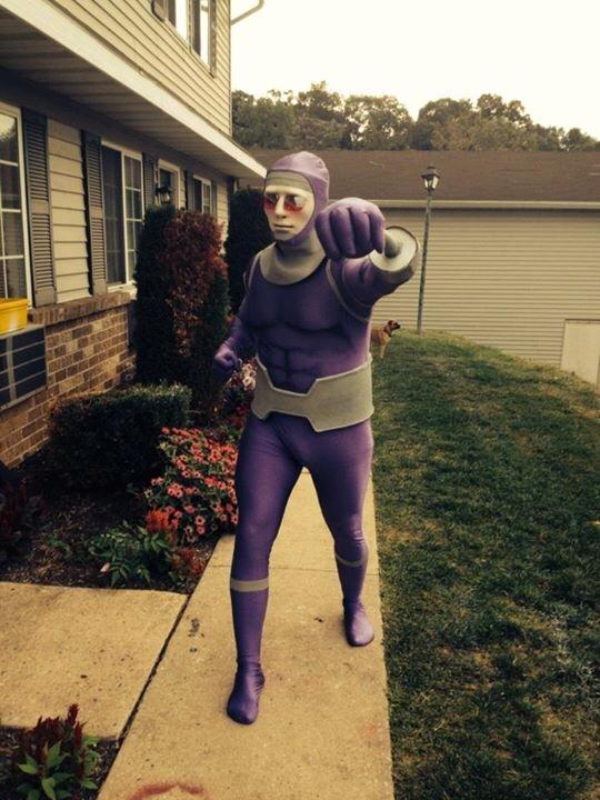 Mike H as Machine Man