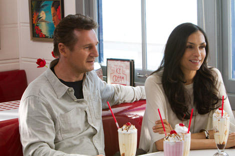 Taken 2 - Liam Neeson and Famke Janssen