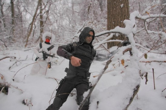 Hot Toys The Winter Soldier - Snow-Job in pursuit