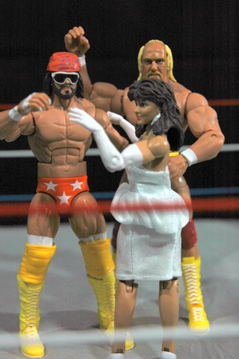 Hulk Hogan Defining Moments figure - MegaPowers