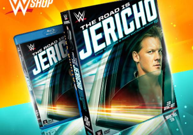 The Road is Jericho blu ray and DVD cover