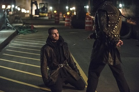 Arrow - My Name is Oliver Queen - Oliver vs Ra's