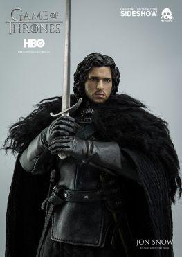 Game of Thrones Jon Snow figure - clutching sword