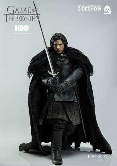 Game of Thrones Jon Snow figure - on the move