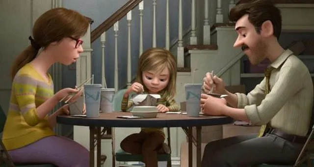 Inside Out - Riley and her parents