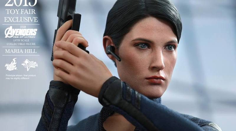 Maria Hill Avengers Age of Ultron Hot Toys figure -close up
