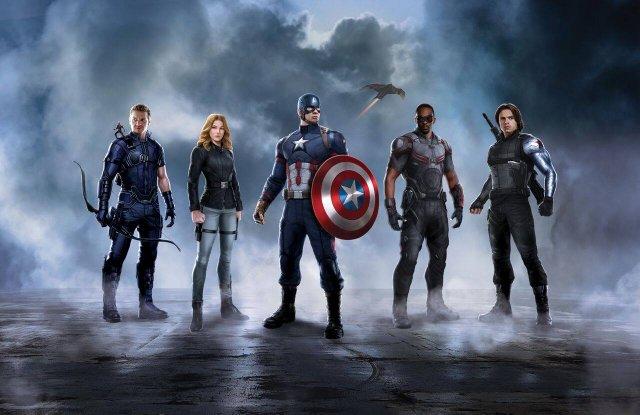 Captain America Civil War promo Captain America team