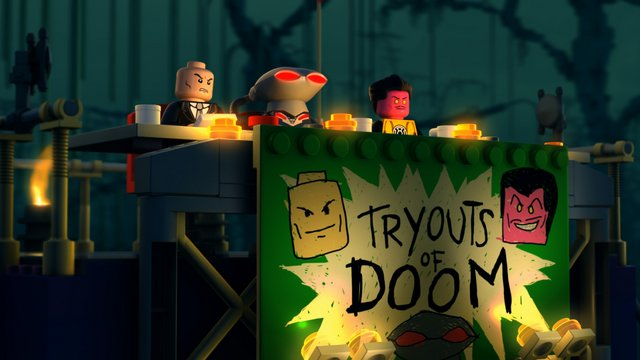 Justice League Attack of the Legion of Doom - Doom Tryouts