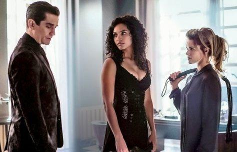 Gotham Ep 2 - Knock Knock - Galavan, Tabitha and Barbara