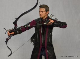 Hawkeye Hot Toys Avengers Age of Ultron - drawing arrow back
