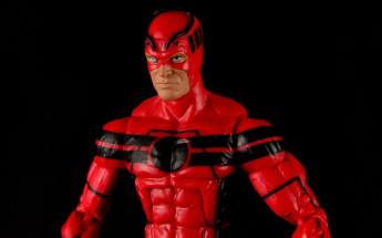 Marvel Legends Giant Man figure review -right side profile
