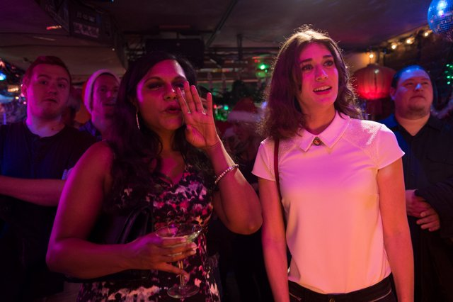 The Night Before - Mindy Kaling and Lizzy Caplan