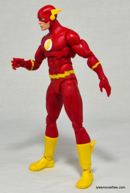 DC Icons The Flash figure review -left side