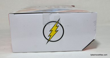 DC Icons The Flash figure review -package top