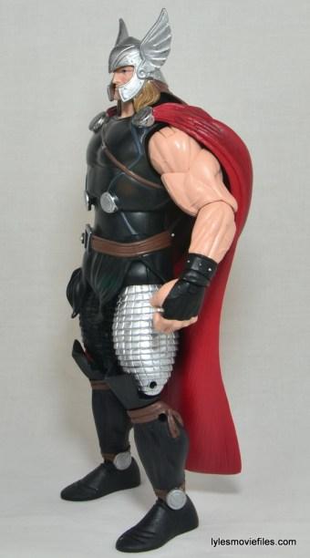 Marvel Legends Thor figure review - left side