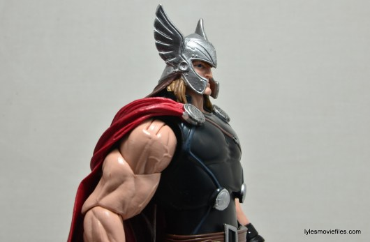 Marvel Legends Thor figure review -right side close up