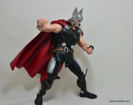 Marvel Legends Thor figure review -to the side