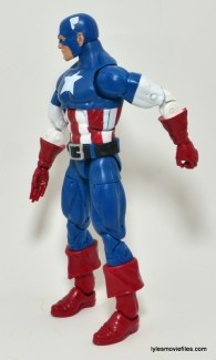 Marvel Legends Captain America review -left side
