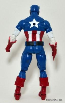 Marvel Legends Captain America review -rear