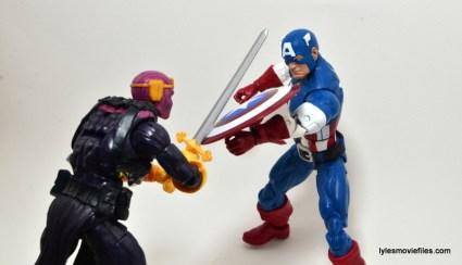 Marvel Legends Captain America review - vs Baron Zemo