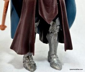 Marvel Legends Odin and King Thor review - boot detail