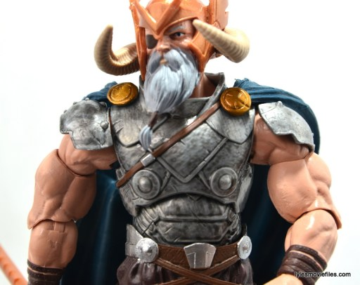Marvel Legends Odin and King Thor review - Odin chestplate