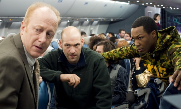 non-stop review - corey stoll and corey hawkins