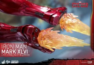 Hot Toys Civil War Iron Man -boot repulsors