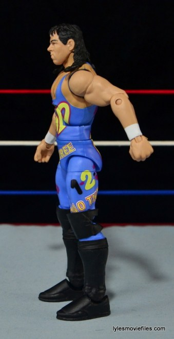 WWE 123 Kid figure review - left side