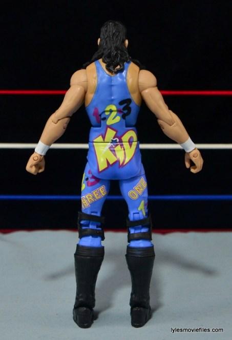 WWE 123 Kid figure review - rear
