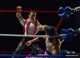 WWE IRS Mattel Elite figure review -attacking Bret Hart