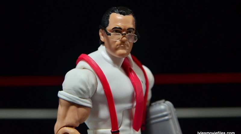 WWE IRS Mattel Elite figure review -main pic